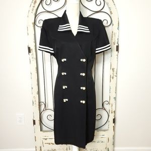 Danny &Nicole nautical dress size 14